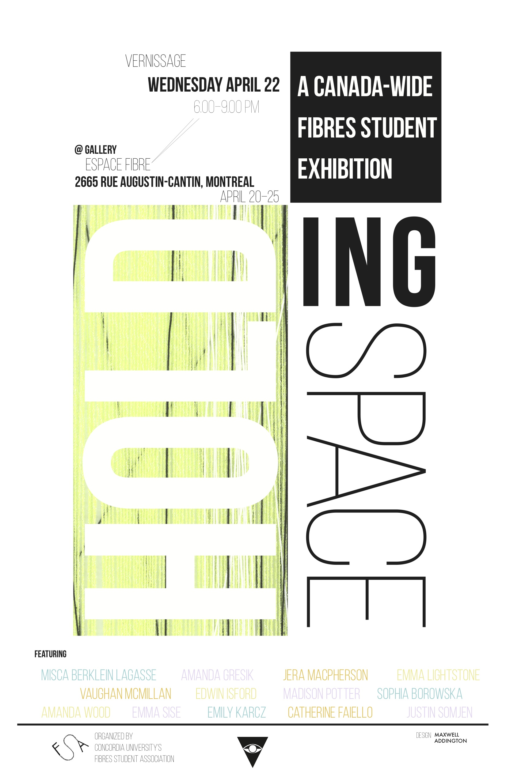 Holding Space Poster
